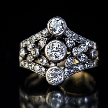 Belle Epoque antique diamond ring