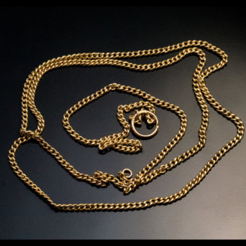 antique chain necklace $1,200