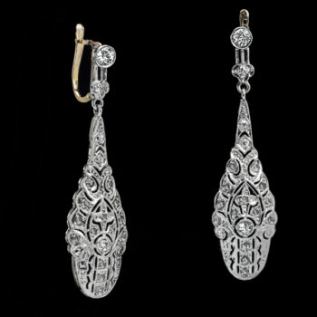 antique edwardian earrings