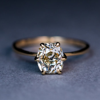 champagne colored diamond