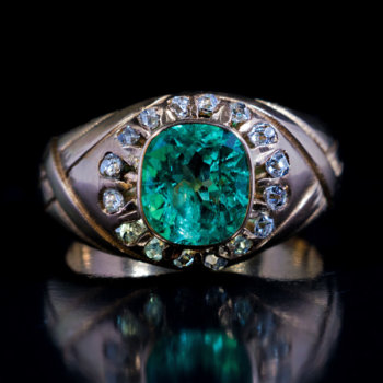 antique emerald ring