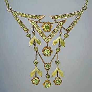 Art Nouveau necklace
