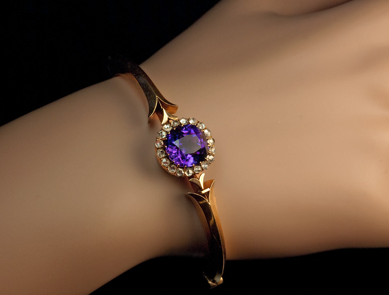 split bangles products amethyst bangle