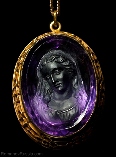 Superb antique amethyst cameo c 1890 antique jewelry vintage a superbly carved antique victorian amethyst cameo pendant c1890 aloadofball Choice Image