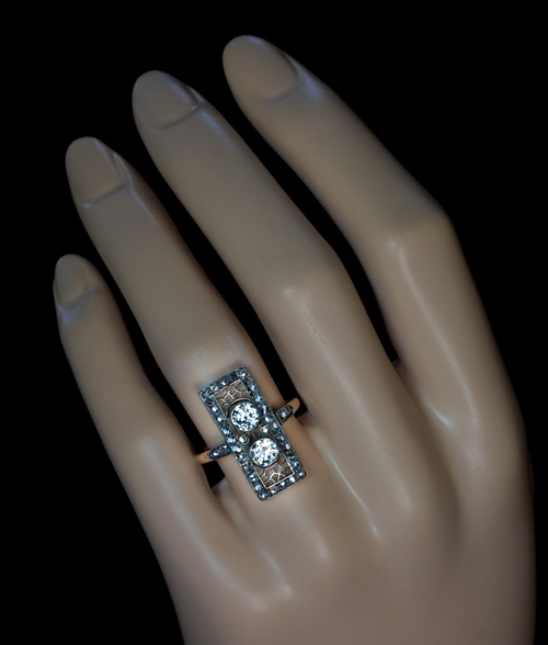 ring antique brilliant earth edwardian engagement the aguirre rings