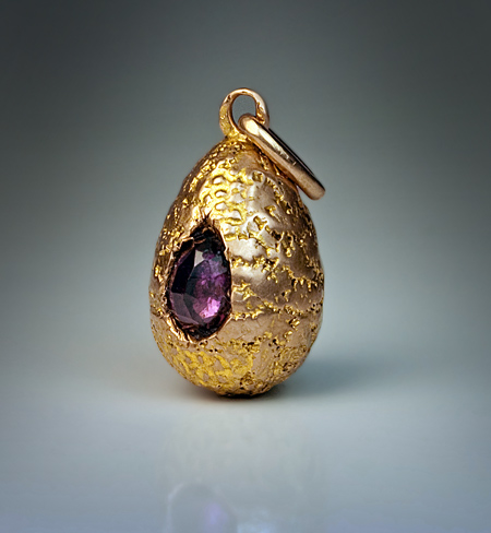 Antique Gold Nugget Jewelry Russian Samorodok Egg