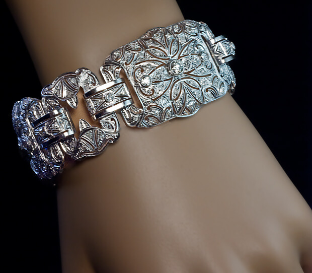 antiques bracelet diamond kay art deco s product