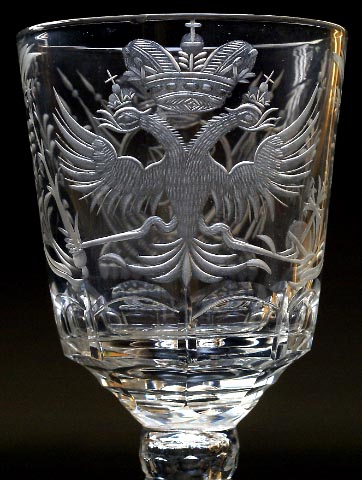 Antique Glass Amp Crystal Tsar Nicholas Ii Palace Wine
