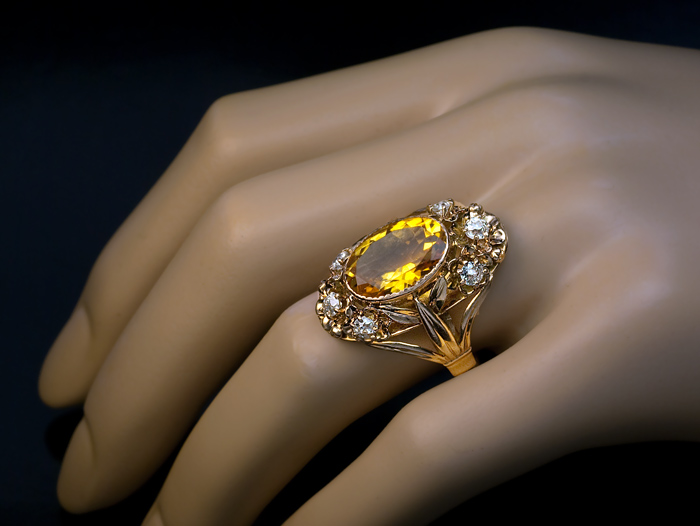 ring white gold diamond rings gr faceted htm in checkerboard citrine