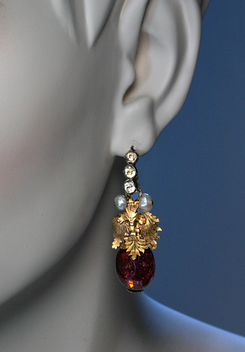 18th Century Georgian Era Amber Earrings Antique Jewelry Vintage Rings Faberge Eggs