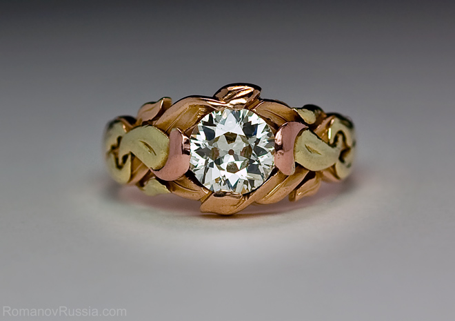 Art Nouveau Antique Diamond Men S Ring Unique Diamond