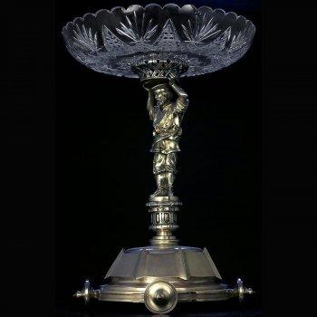 Antique Russian silver centerpiece