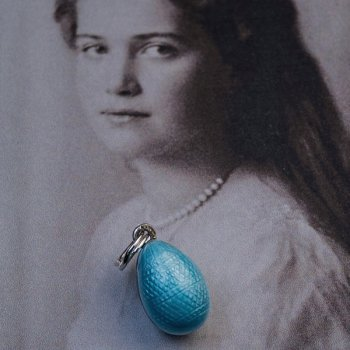 Grand Duchess Maria Nikolaevna egg pendant