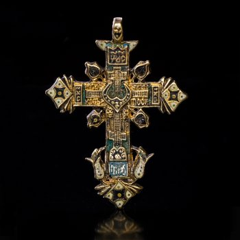 17 century cross pendant