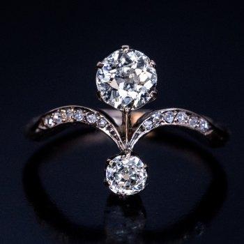 Belle Epoque antique diamond ring