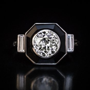 Art Deco vintage engagement ring