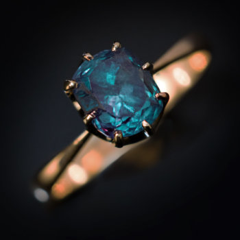 Russian alexandrite ring