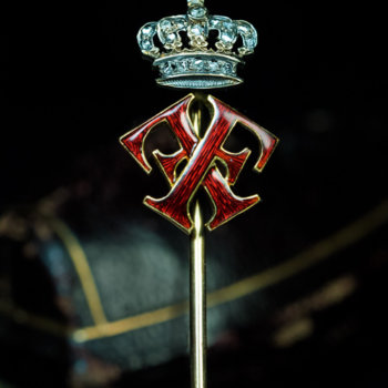 antique royal stickpin