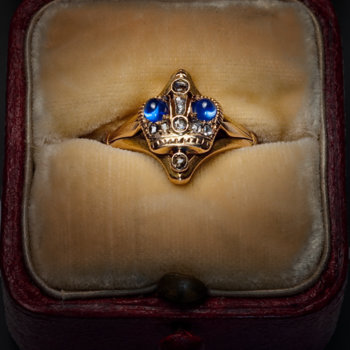 Russian Imperial crown ring