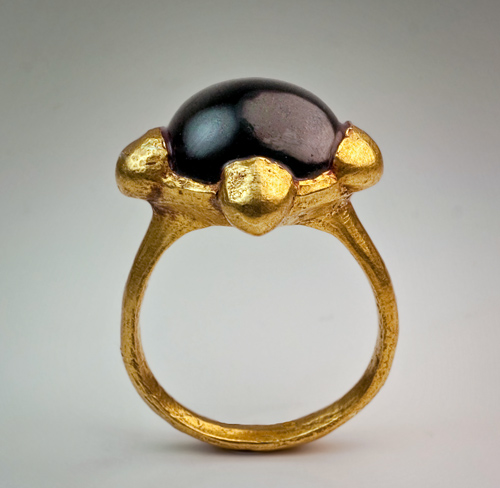 Early Medieval Byzantine High Carat Gold Ring Antique