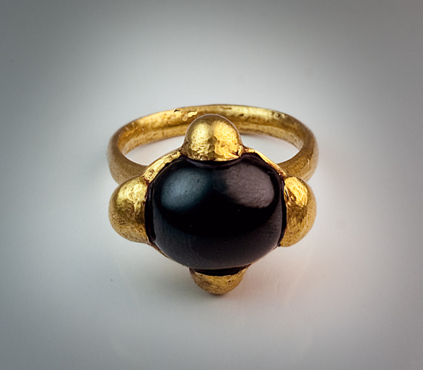 Early Medieval Byzantine High Carat Gold Ring - Antique Jewelry