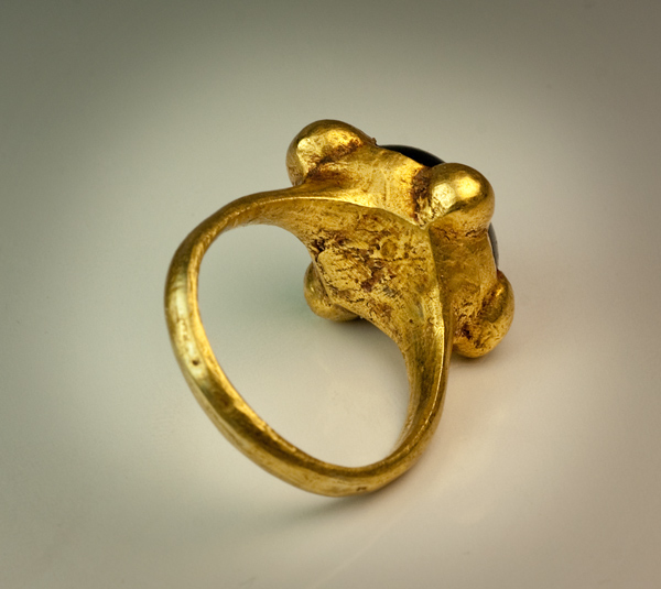 Early Medieval Byzantine High Carat Gold Ring - Antique