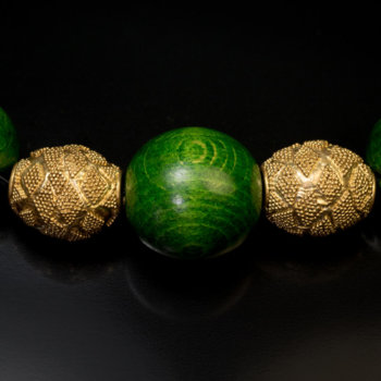 ancient Hellenistic Greek gold beads